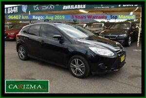 2011 Ford Focus LW Ambiente Black 5 Speed Manual Hatchback Seven Hills Blacktown Area Preview