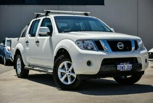 2012 Nissan Navara D40 S6 MY12 ST White 5 Speed Sports Automatic Utility Midvale Mundaring Area Preview