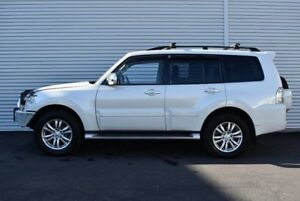 2013 Mitsubishi Pajero NW MY13 Exceed White 5 Speed Sports Automatic Wagon