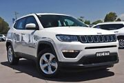 2018 Jeep Compass M6 MY18 Sport FWD White 6 Speed Automatic Wagon McGraths Hill Hawkesbury Area Preview