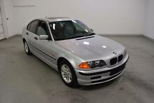 2000 BMW 318I E46 E46 SEDAN 4DR AUTO 4SP 1.9I Silver 4 Speed Auto Steptronic Sedan Moorabbin Kingston Area Preview