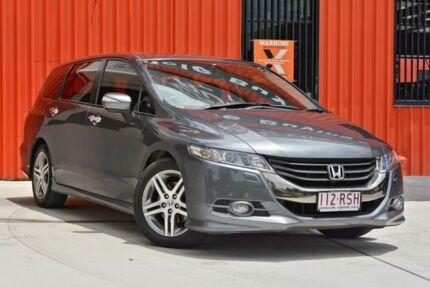 2011 Honda Odyssey 4th Gen MY10 Luxury Grey 5 Speed Sports Automatic Wagon