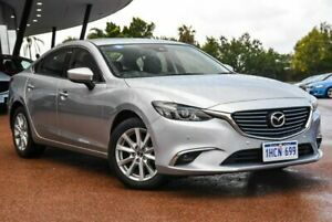 2017 Mazda 6 GL1031 Touring SKYACTIV-Drive Silver 6 Speed Sports Automatic Sedan Wangara Wanneroo Area Preview