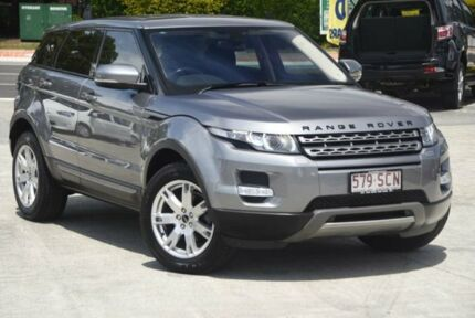 2011 Land Rover Range Rover Evoque L538 MY12 SD4 CommandShift Pure Grey 6 Speed Sports Automatic Southport Gold Coast City Preview