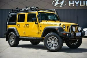 2015 Jeep Wrangler JK MY2015 Unlimited Rubicon Yellow 5 Speed Automatic Softtop Midvale Mundaring Area Preview