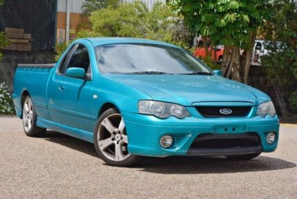 2007 Ford Falcon BF Mk II XR6 Ute Super Cab Turquoise 5 Speed Manual Utility