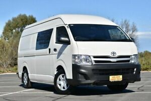 2013 Toyota HiAce KDH221R MY12 Super LWB White 4 Speed Automatic Van Enfield Port Adelaide Area Preview