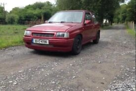 Vauxhall Nova Project Spares Or Repair
