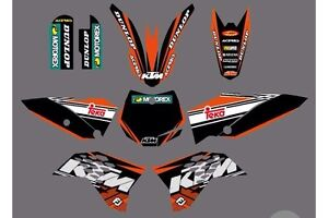 2009 Ktm sx50 graphics kit