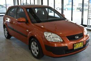 2007 Kia Rio JB MY07 EX Orange 4 Speed Automatic Hatchback Port Macquarie Port Macquarie City Preview