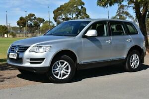 2008 Volkswagen Touareg 7L MY08 V6 TDI 4Xmotion Silver 6 Speed Sports Automatic Wagon Brighton Holdfast Bay Preview