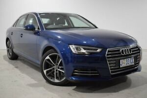2016 Audi A4 B9 8W MY17 Sport S Tronic Blue 7 Speed Sports Automatic Dual Clutch Sedan Launceston Launceston Area Preview