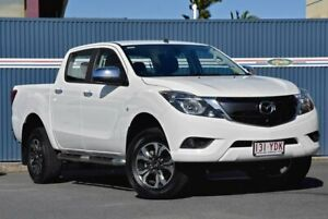 2018 Mazda BT-50 UR0YG1 XTR White 6 Speed Sports Automatic Utility Tweed Heads Tweed Heads Area Preview