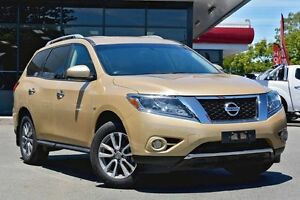 2013 Nissan Pathfinder R52 MY14 ST X-tronic 2WD Gold 1 Speed Constant Variable Wagon Beaudesert Ipswich South Preview