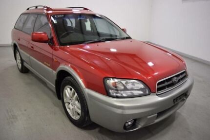 2001 Subaru Outback MY01 3GEN MY01 WAGON 5DR MAN 5SP D Red 5 Speed Manual Wagon Moorabbin Kingston Area Preview