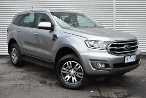 2018 Ford Everest UA II 2019.00MY Trend 4WD Silver 10 Speed Sports Automatic Wagon Epping Whittlesea Area Preview
