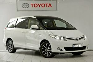 2014 Toyota Tarago GSR50R MY13 Ultima White 6 Speed Sports Automatic Wagon Waterloo Inner Sydney Preview