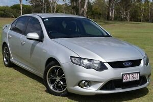 2010 Ford Falcon FG XR6 Silver 6 Speed Sports Automatic Sedan Bundaberg West Bundaberg City Preview
