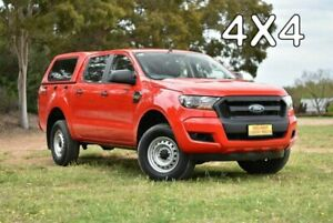 2018 Ford Ranger PX MkII 2018.00MY XL Red 6 Speed Sports Automatic Utility Enfield Port Adelaide Area Preview
