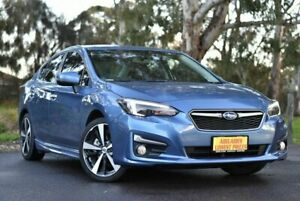 2017 Subaru Impreza G5 MY17 2.0i-S CVT AWD Blue 7 Speed Constant Variable Sedan Melrose Park Mitcham Area Preview