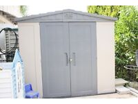 Keter Plastic Apex 6 x 3 ft. Storage Shed