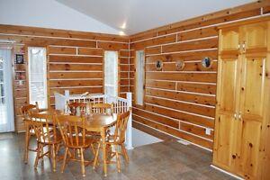 Rainbow Lake Log Home Kingston Kingston Area image 7
