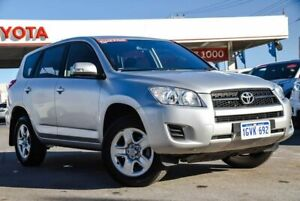 2012 Toyota RAV4 ACA38R CV (2WD) Silver Pearl 4 Speed Automatic Wagon Osborne Park Stirling Area Preview