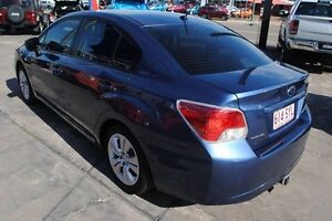 2013 Subaru Impreza G4 MY13 2.0i Lineartronic AWD Blue 6 Speed Constant Variable Sedan Townsville Townsville City Preview