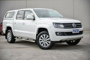 2016 Volkswagen Amarok 2H MY16 TDI420 4Motion Perm Highline White 8 Speed Automatic Utility Midvale Mundaring Area Preview