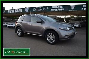2012 Nissan Murano Z51 MY12 TI Grey Continuous Variable Wagon Toongabbie Parramatta Area Preview