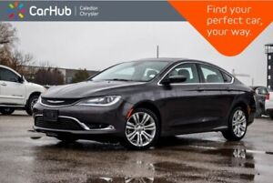 2015 Chrysler 200 Limited|Navi|Sunroof|Backup Cam|Bluetooth|R-St