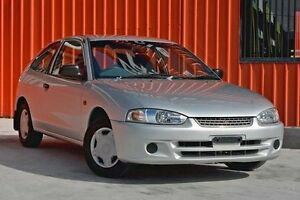2002 Mitsubishi Mirage CE MY2002 Silver 4 Speed Automatic Hatchback Molendinar Gold Coast City Preview
