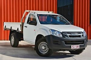 2013 Isuzu D-MAX MY12 EX White 5 Speed Manual Cab Chassis Molendinar Gold Coast City Preview