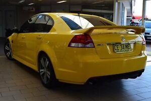 2011 Holden Commodore VE II MY12 SV6 Hazard Yellow 6 Speed Automatic Sedan Belconnen Belconnen Area Preview