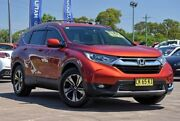 2017 Honda CR-V RW MY18 VTi FWD Red 1 Speed Constant Variable Wagon McGraths Hill Hawkesbury Area Preview