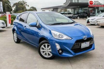 2016 Toyota Prius c Blue Constant Variable Hatchback
