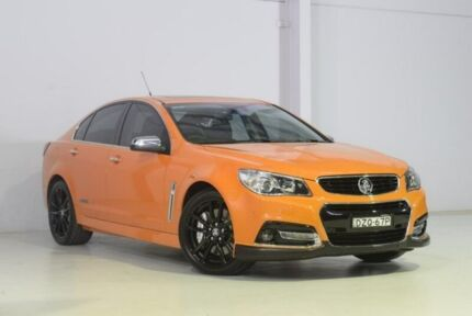 2013 Holden Commodore VF MY14 SS V Redline Orange 6 Speed Manual Sedan Wyong Wyong Area Preview