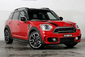 2018 Mini Countryman F60 Cooper S Steptronic Chilli Red 8 Speed Sports Automatic Wagon Darlinghurst Inner Sydney Preview