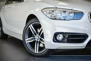 2016 BMW 120i F20 LCI Sport Line Steptronic White 8 Speed Sports Automatic Hatchback Bellevue Swan Area Preview