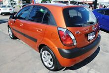 2008 Kia Rio JB MY09 LX Orange 5 Speed Manual Hatchback Hyde Park Townsville City Preview