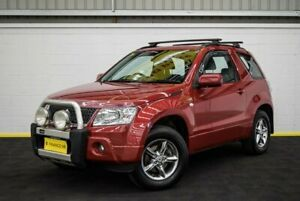 2008 Suzuki Grand Vitara JB MY09 Red/Black 4 Speed Automatic Hardtop Canning Vale Canning Area Preview