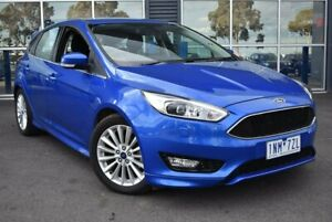 2018 Ford Focus LZ Sport Blue 6 Speed Automatic Hatchback Epping Whittlesea Area Preview