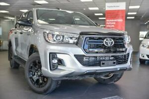 2018 Toyota Hilux GUN126R Rogue Double Cab Silver 6 Speed Sports Automatic Utility Bellevue Swan Area Preview