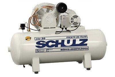 Schulz Air Compressor - 3hp 60 Gallon Tank - Oil Free