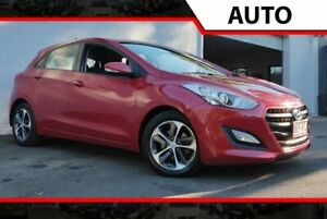 2015 Hyundai i30 GD3 Series II MY16 Active X Red 6 Speed Sports Automatic Hatchback Ashmore Gold Coast City Preview
