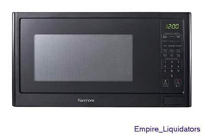Kenmore 1.6 cu. ft.Counter Top Microwave Oven Bright LED Display - Black  76989