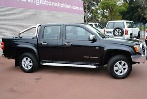 2009 Holden Colorado RC MY09 LT-R Crew Cab Black 4 Speed Automatic Utility