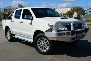 2014 Toyota Hilux KUN26R MY14 SR5 (4x4) White 5 SP AUTOMATIC Dual Cab Pick-up Kewdale Belmont Area Preview