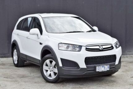 2014 Holden Captiva CG MY15 7 LS Summit White 6 Speed Sports Automatic Wagon