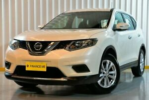2017 Nissan X-Trail T32 ST X-tronic 4WD White 7 Speed Constant Variable Wagon